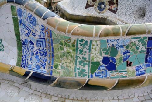 Parque Guell Gaudi Barcelona Espanha