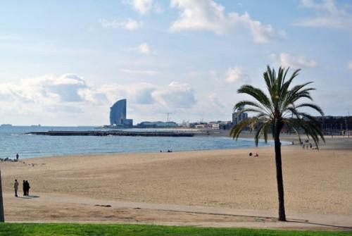 Praia Barcelona Espanha