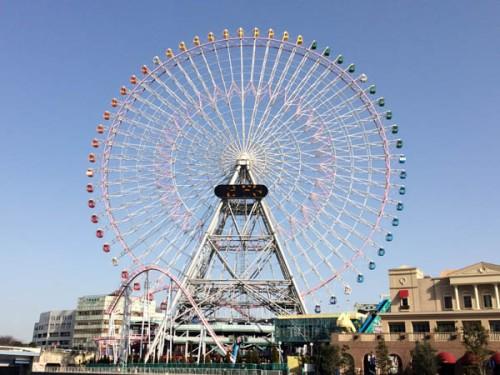 Roda gigante Yokohama Japao