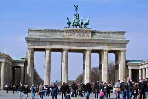 Berlim Portão Brandemburgo Alemanha