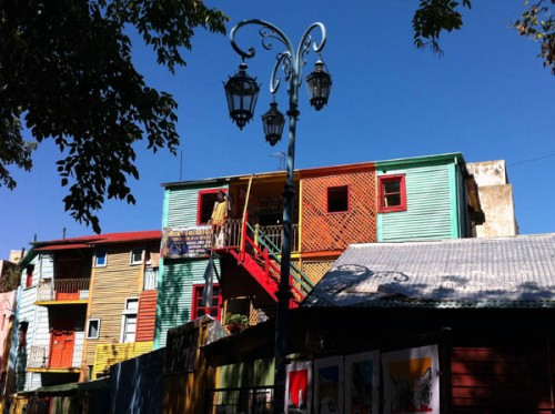 Buenos Aires Caminito Argentina