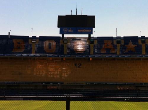 Buenos Aires estadio Bombonera Argentina