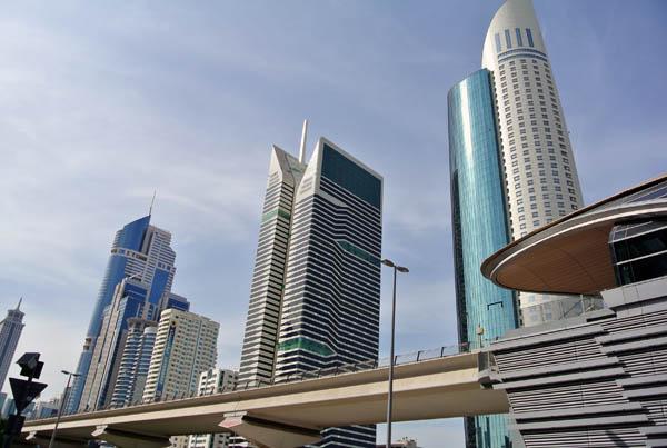Dubai arranha ceu Emirados Arabes Asia