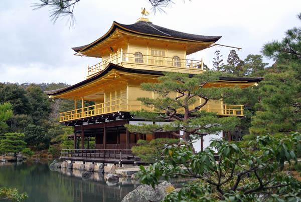 Kinkakuji templo ouro Kyoto Japao