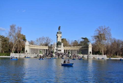 Madrid Parque del Retiro Espanha