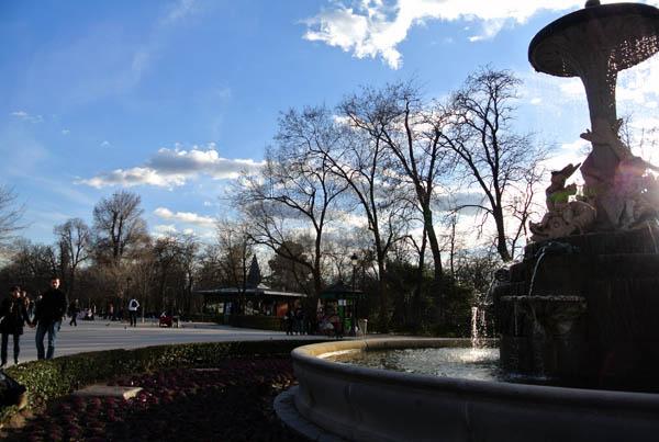Madrid Parque del Retiro Espanha Europa
