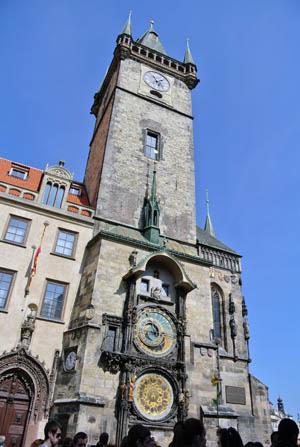Praga Relogio Astronomico Republica Tcheca