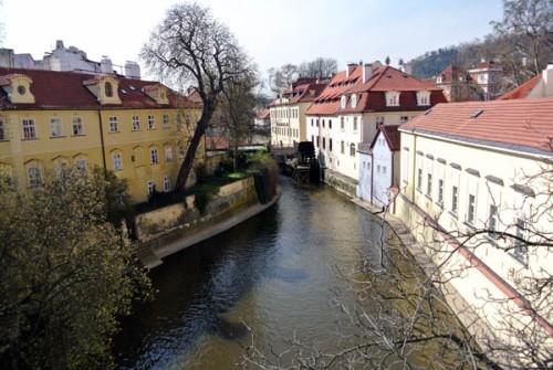 Praga vista rio Charles Bridge República Tcheca