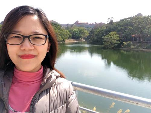Naha eu Castelo Shuri Okinawa Japao