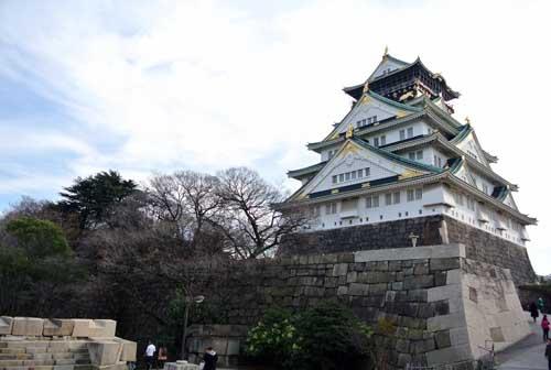 Osaka_CastelodeOsaka_Japao