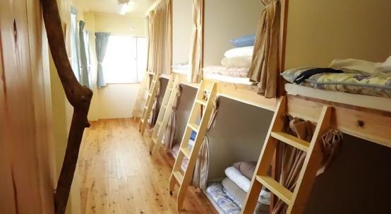 Sora House hostel Naha Okinawa Japão