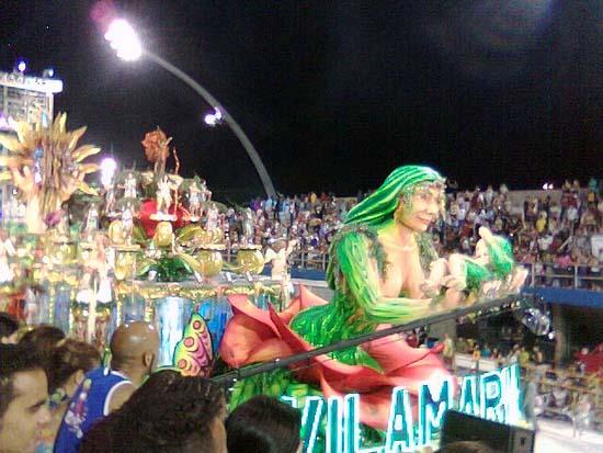 Carnaval Anhembi Sao Paulo carro alegorico