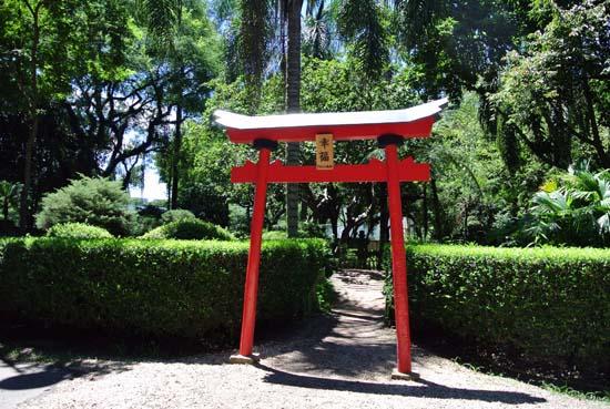 Parque Santos Dumont jardim japones SJC SP