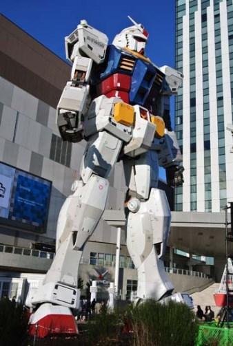 Gundam Mobile Suit DiverCity Tokyo Japao