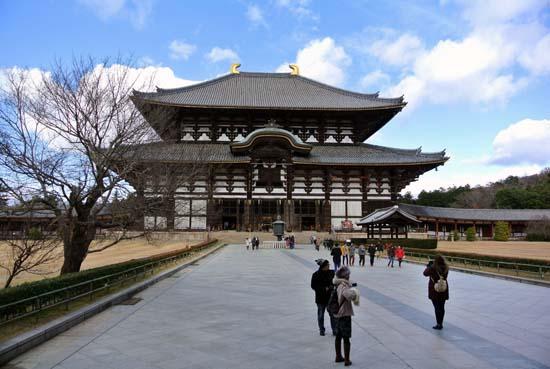 Todaiji templo Nara Japao