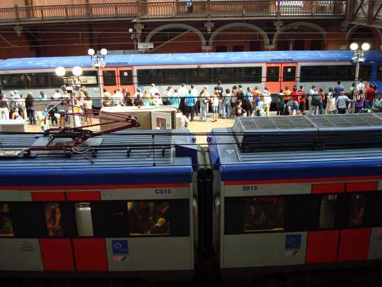 Estacao Luz metro Sao Paulo SP