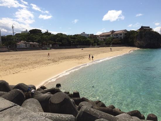 Naha praia Okinawa Japao