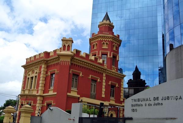 Museu Tribunal Justica Rua Conde de Sarzedas Liberdade SP